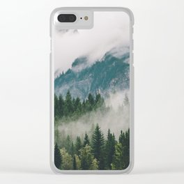 Vancouver Fog Clear iPhone Case
