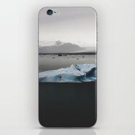 Blue Ice iPhone Skin