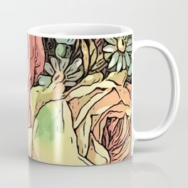 Wonderful toony Roses Coffee Mug