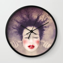 The Noise of the world - MonGhost VIII (V2) Wall Clock