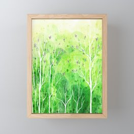 Beautiful Forest Framed Mini Art Print