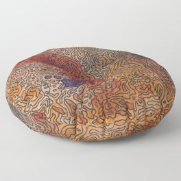 The Mojave Floor Pillow
