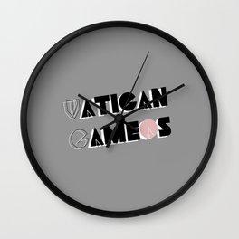 Vatican Cameos - Sherlock Wall Clock