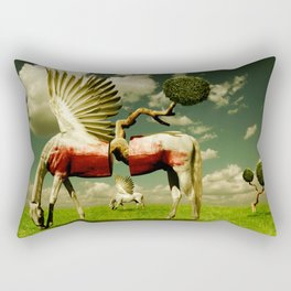 Pegasus Divided Rectangular Pillow
