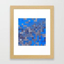 little colored squares -1- Framed Art Print