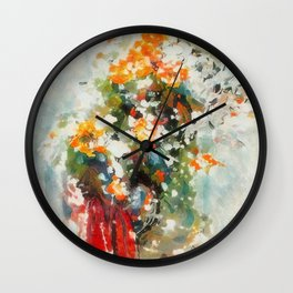 Spring in Tel Aviv, Israel Wall Clock