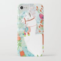 llama iPhone & iPod Cases featuring Llama by The Wildest Little Things