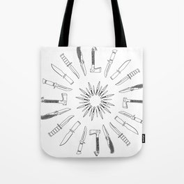 Sharp Edge Tote Bag