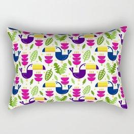 Tropical Toucans Rectangular Pillow