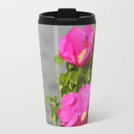 Wild Roses Travel Mug