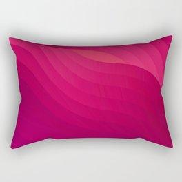 Pinky babe - geometric abstract Rectangular Pillow