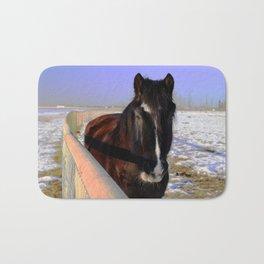 Mahogany Bay Draft Horse Bath Mat