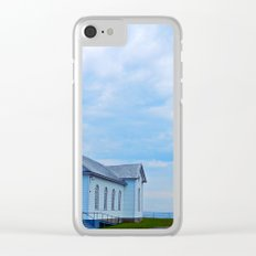 Church and Sea Clear iPhone Case