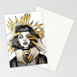Fear of Hands Inktober Stationery Cards