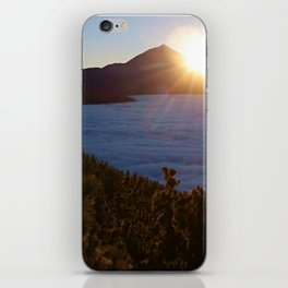 Sunset Canary Islands forest and Volcano Teide in Tenerife iPhone Skin