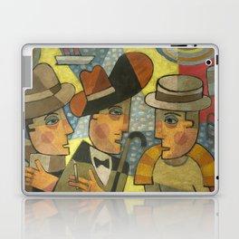 Haines, Stephen Dedalus and Buck Mulligan Laptop & iPad Skin