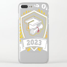 Class-of-2023---Class-of-2023-Graduation-T-Shirt---Sao-chép Clear iPhone Case