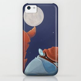 Cancer Hangs the Moon iPhone Case