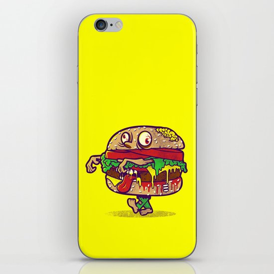 ZOMBURGER iPhone & iPod Skin