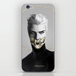 7 sins: Wrath iPhone Skin