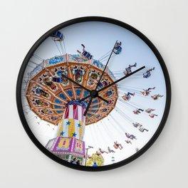Sunset Swing Wall Clock