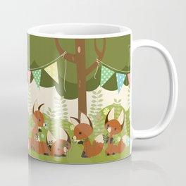 Fox Party Coffee Mug