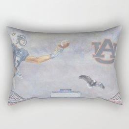 Auburn Tigers University War Eagle Rectangular Pillow