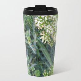 green wild flowers Travel Mug