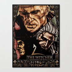 The Witcher 2 Canvas Print