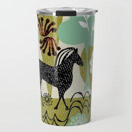 magical horse garden Travel Mug