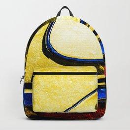 Headlight, Hood Of A Car Color Backpack