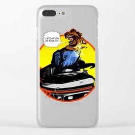 Mr. T(Rex) Clear iPhone Case
