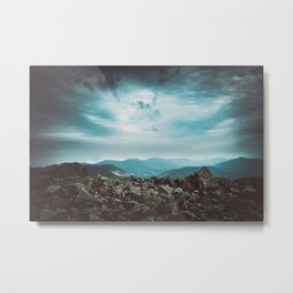 Worlds Above Metal Print