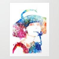 hepburn Art Prints featuring Audrey Hepburn by Heaven7