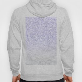 Violet Glitter and Marble Hoody