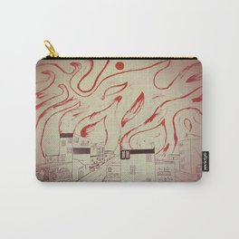 Burning city Carry-All Pouch