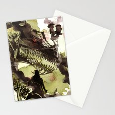 Steampunk Dragon Stationery Cards