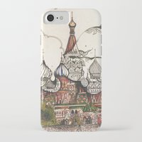 moscow iPhone & iPod Cases featuring Moscow II by RiversAreDeep