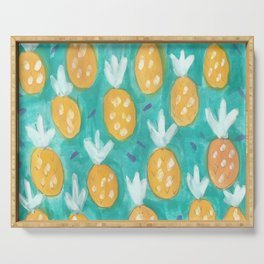Fresh Pineapples Serving Tray