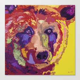 Bear 2B Canvas Print