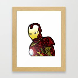The hero Framed Art Print