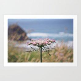 Pink Colored Summer Art Print