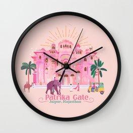 Patrika Gate Jaipur Wall Clock