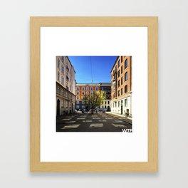 urban nature II, Vesterbro Framed Art Print