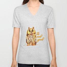 It´s owl good Unisex V-Neck