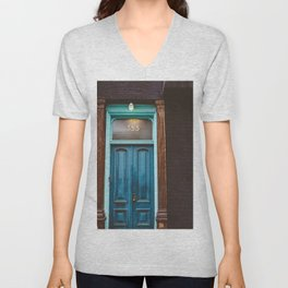 Brooklyn Door II Unisex V-Neck