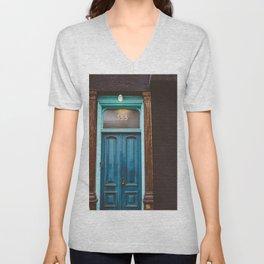 Brooklyn Door II Unisex V-Neck