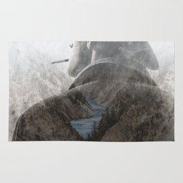 Mountain's Cowboy by GEN Z Rug