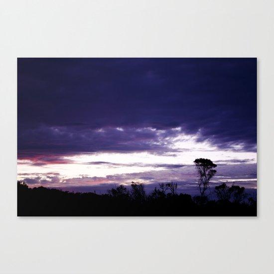 Hamptons Sunset Canvas Print