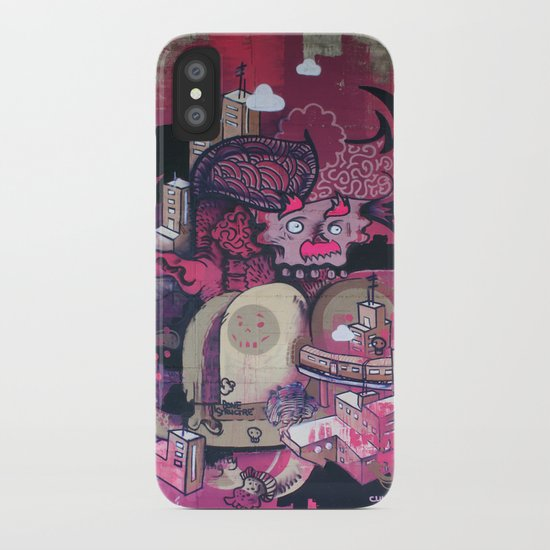 Dont Worry - Party Hard (Pink) Close Up iPhone Case